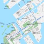 豊洲・お台場 地図素材