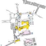 新宿駅地下街 地図素材