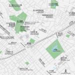 巣鴨・駒込 地図素材