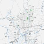 京都広域 地図素材