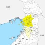 大阪府 市区町村別 白地図
