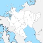 佐賀県 白地図 市区町村界 フリー素材