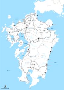 九州全域 鉄道メイン