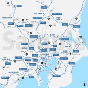 首都圏高速道路図